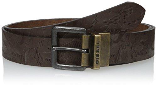 Diesel Men's B-Twin Camou Belt, Shopping Bag/Mudd, 75