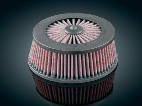 Replacement K&N Filter for Hi-Five Mach 2 Air Cleaner, Manufacturer: Kuryakyn, REPL K&N FILTER FOR MACH 2