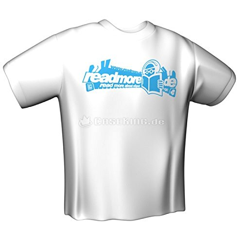 GamersWear READMORE T-Shirt White