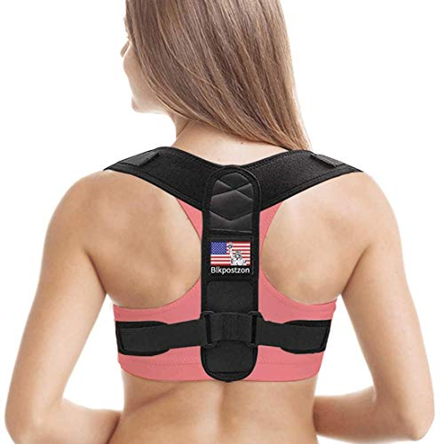 Back Posture Corrector for Women Men - Upper Back Brace Posture Corrector - Adjustable Clavicle Posture Support - Effective Back Straightener,Correct Back Posture Brace for Pain Relief (Universal)