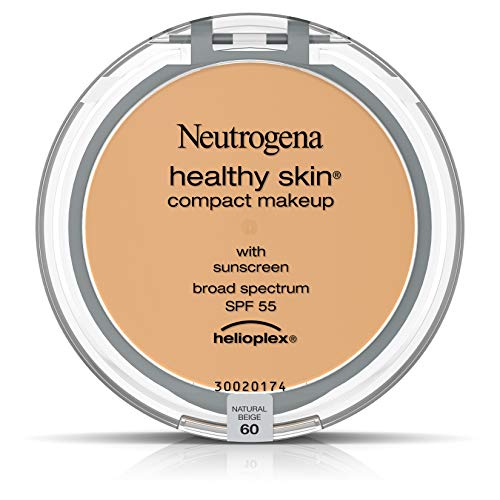 Neutrogena Healthy Skin Compact Makeup Foundation,  Broad Spectrum Spf 55, Natural Beige 60, .35 Oz.