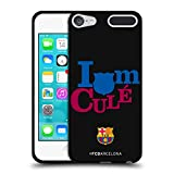 Official FC Barcelona I'm A Cule 2017/18 Campions Black Soft Gel Case for Apple iPod Touch 6G 6th Gen