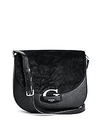 GUESS Lexxi Mixed Saddle Bag