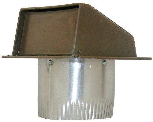 Air Vent Intake (Speedi-Products EX-EVB 04 4-Inch Diameter Plastic Eave Vent, Brown)