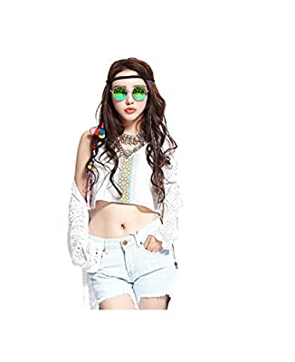Fashion Round Vintage Sunglasses Steampunk Man Lady Unisex sunglass for Men Women