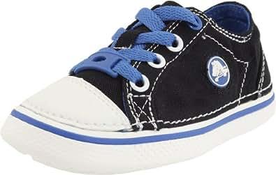 crocs 11682 - Zapatillas de tela para niño, color negro, talla 27