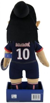 Zlatan Ibrahimovic Poupluche Pl/üschfigur 37 cm PSG Trikot Home