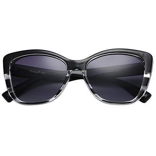 Polarspex Polarized Women's Oversized Square Jackie O Cat Eye Fashion ()