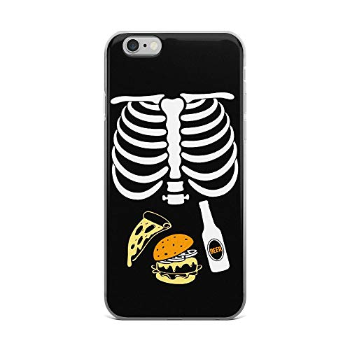 iPhone 6 Plus/6s Plus Pure Case Cover Halloween Skeleton Beer Tacos