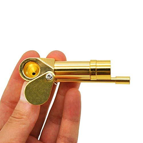 Amazon.com: SUMJULY Tubería de latón portátil de Metal Mini tubo de Jamaica: Health & Personal Care
