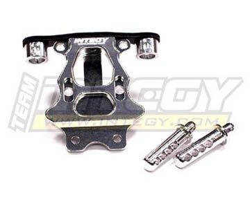 Integy RC Model Hop-ups T3441SILVER Billet Machined Rear Body & Pin Mount for 1/16 Traxxas (Billet Aluminum Body)
