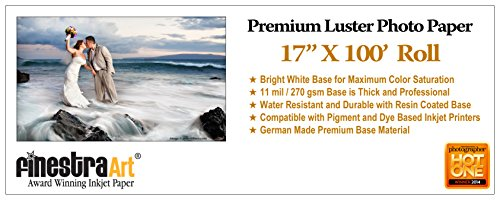 "17"" X 100' Roll Premium Luster Photo Paper [Office Product]"
