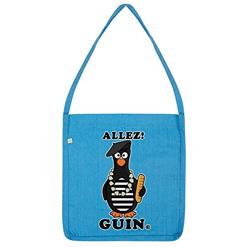 Blue French Guin Twisted Twisted Tote Envy Envy Bag Penguin Allez xzPqgn