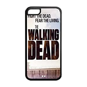 Walking Dead Solid Rubber Customized Cover Case for iPhone 5c 5c-linda316
