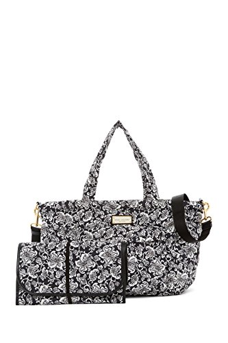 (Marc Jacobs Crosby Elizababy Quilted Paisley Baby Bag With Changing Pad,)
