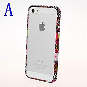 TY Abstract Geometric Pattern Bumper Frame for iPhone 5/5S , A