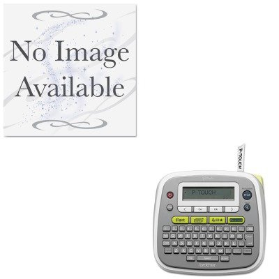 KITBRTPTD200KMW67783 - Value Kit - Kensington SecureBack M Series Modular Enclosure for iPad (KMW67783) and Brother P-Touch PT-D200 Label Maker (BRTPTD200)