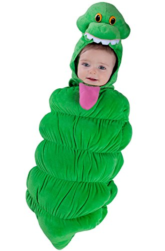 Princess Paradise Baby Boys' Ghostbusters Slimer Swaddle Deluxe Costume, As As Shown, 0/3M -