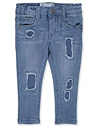 Freestyle Revolution Baby Girls' Elongated Patch Denim Jeans
