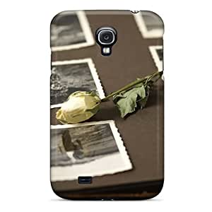 (fwVJuMb3650jmghj)durable Protection Case Cover For Galaxy S4(withered Roses)