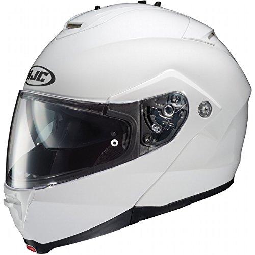 (HJC IS-MAX 2 Helmet (White, Large))