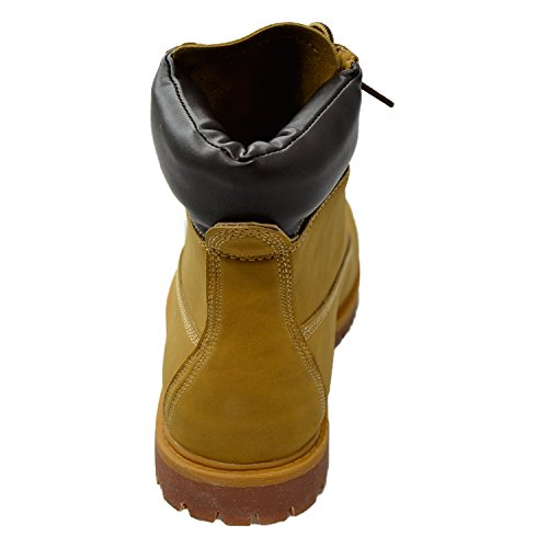 Generation Y Womens Ankle Boots Lace Up Ankle Padded Hiking Work Shoes Tan Tan M3AL6k