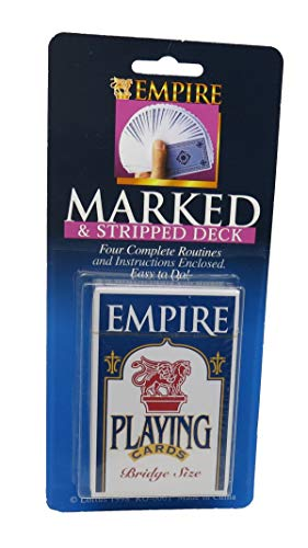 (Royal Magic Empire Economy Eureka Deck - Both a Stripper Deck and Marked Deck All in One)