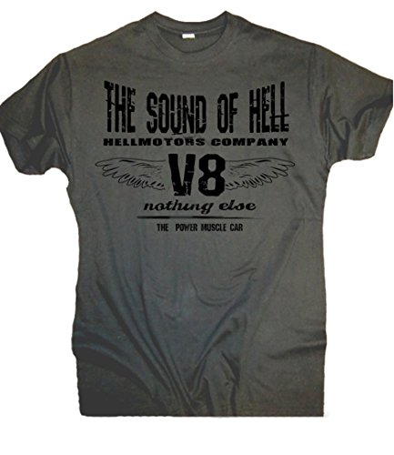 Sound of Hell V8 T-Shirt #US Car Hot Rod Oldschool Race Custom