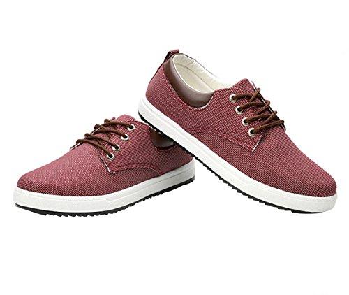 classiche rosso uomo Bomkin Scarpe da tela H6w8O8xqn