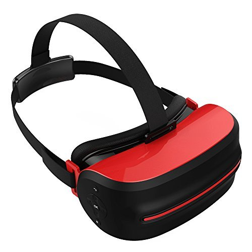 ARCHEER 3D VR All in One Virtual Reality Headset 3D VR Glasses, Android 5.1 System 5.5inch 1080P HD Screen 2G/32G 360 Viewing Immersive support Wifi 2.4G TF Card
