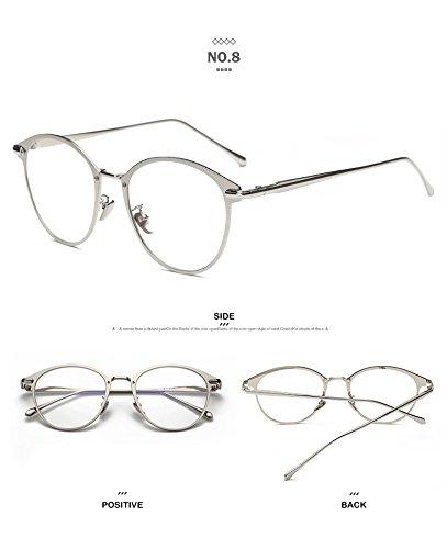 e6c3eb725 Gafas de sol : Marcos de diseñador hombres gafas de sol en línea Merriz -  Gafas de Sol para Hombre con Marco de Metal, diseño de Caramelo, 9 Colores,  ...