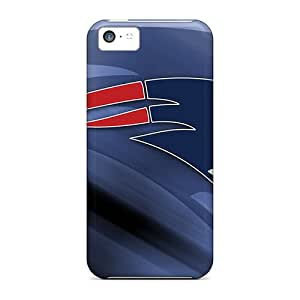 Fashion Protective New England Patriots Case Cover For Iphone 5c