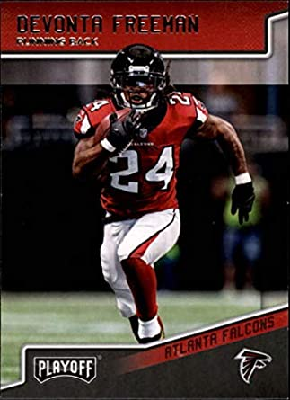 fa8aed6f3 2018 Playoff Football  8 Devonta Freeman Atlanta Falcons Official NFL  Trading Card made by Panini