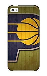 High-end Case Cover Protector For Iphone 5c(indiana Pacers Nba Basketball (8) ) WANGJING JINDA