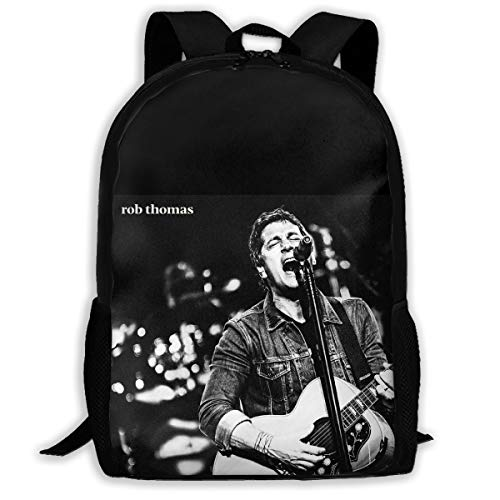 Yue Liu Rob Thomas Men and Women Backpack College College High School Shoulder Bag Outdoor Backpack