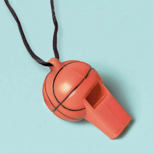 Championship Basketball Whistles 12ct by Amscan