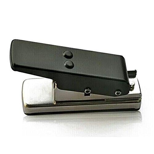 SODIAL Guitar Plectrum Pick Press Metal+plastic Card Hole Punch Picks Maker Cutter DIY Machine 141217