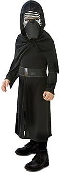 Oferta amazon: Rubies Star Wars - Disfraz Kylo Ren, para niños, 7-8 años 620260-L
