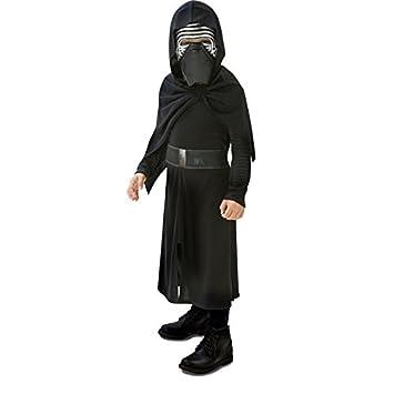 11617cb619d Rubies Star Wars - Disfraz Kylo Ren, para niños, 7-8 años 620260-L:  Amazon.es: Juguetes y juegos