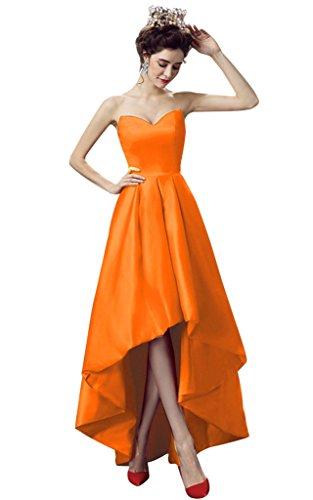 Vimans -  Vestito  - linea ad a - Donna Orange 46