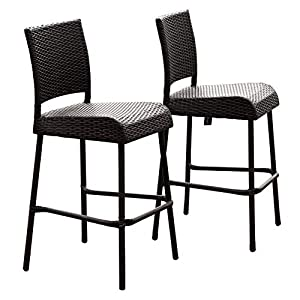 41NL6W476uL._SS300_ Wicker Dining Chairs & Rattan Dining Chairs