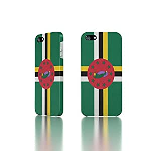 Apple iPhone 5 / 5S Case - The Best 3D Full Wrap iPhone Case - Country Flag of Dominica
