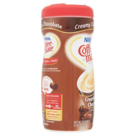 PACK OF 10 - COFFEE-MATE Creamy Chocolate Powder Coffee Creamer 15 oz. Canister by Coffee-mate (Image #4)