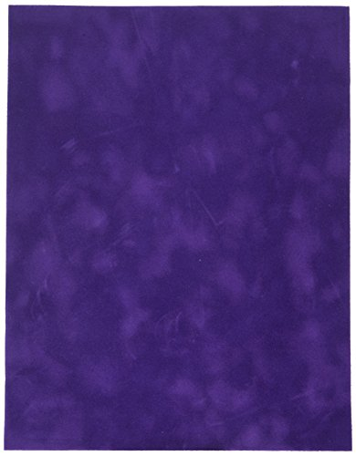 Sew Easy Industries 12-Sheet Velvet Paper, 8.5 by 11-Inch, Eggplant by Sew Easy Industries
