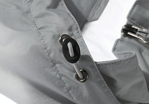 Maschile Pelle Upf30 Giacca Outdoor Contro Grey Sottile Vento Essiccazione A xFFHg1wq