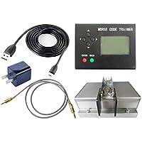 Morse Code Trainer, cjc LCD Telegraph Short Wave Radio Station Telegraphy CW Auto Key Radio Transmitter