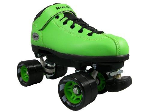 Riedell Dart Skates - Dart Green Speed Skates - Dart Green Quad Skates