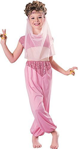 [Rubies Harem Girl Child Costume, Medium] (Jasmine And Aladdin Costumes)
