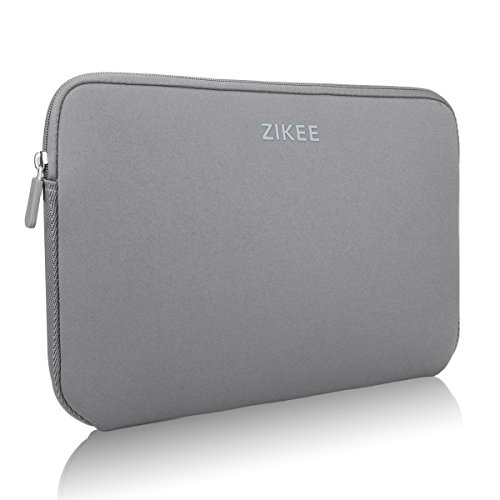 Zikee 11-12 Zoll ultradünne, stärkste wasserfeste Schutzhülle für Laptops / Ultrabooks in vielen Farben erhältlich (Grau)