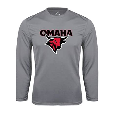 Amazon Com Nebraska Omaha Performance Steel Longsleeve Shirt